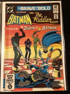 The Brave and the Bold #183 FN/VF DC comics