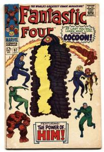 Fantastic Four #67 1st appearance  Warlock / HIM  Marvel comic book VG
