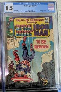 Tales of Suspense #96 (1967) CGC 8.5 Captain America AND IRON MAN!
