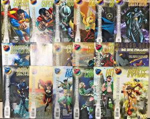 DC ONE MILLION NM LOT OF 40 BOOKS COMPLETE SERIES 1998 DC COMICS