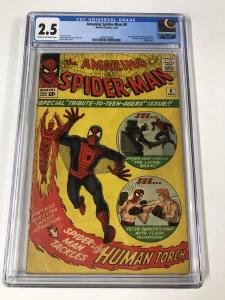 Amazing Spider-Man #8 CGC 2.5