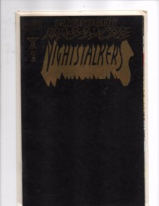 Marvel Comics Nightstalkers #10 Darkhold Envelope cover (Black Parchment) Cover