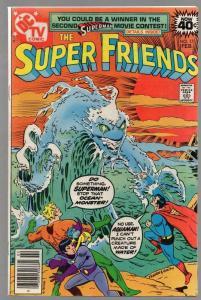 SUPER FRIENDS (1976-1981) 17 VG-F Feb. 1979