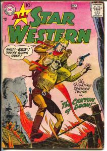 All-Star Western #98 1958-DC-Trigger Twins-Johnny Thunder-VG-