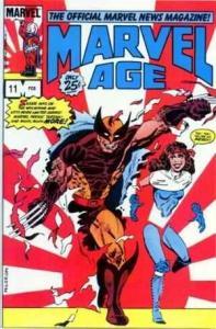 Marvel Age #11, VF- (Stock photo)