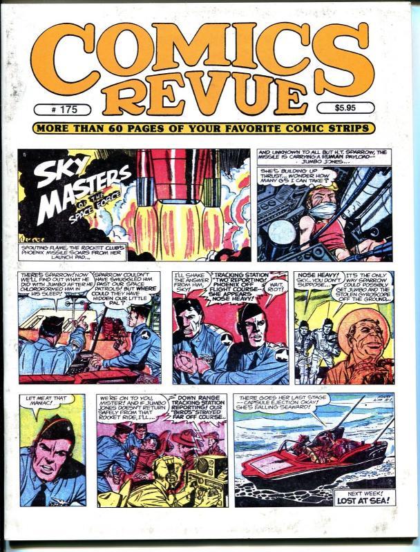 Comics Revue #175 2000-Jack Kirby-Sky Masters-Phantom-Modesty Blaise-Tarzan-VF
