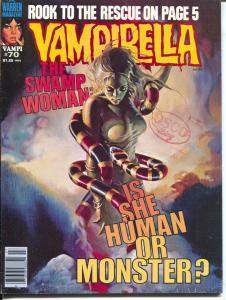 Vampirella #70 1978-Warren-Swamp Woman cover-spicy art-The Rook-FN