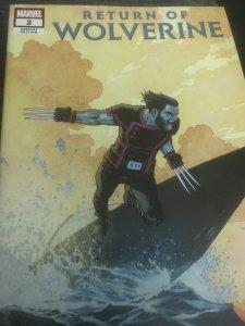 Marvel Return of Wolverine #2 Variant Mint Hot