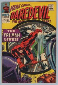 Daredevil 22 Nov 1966 FI+ (6.5)