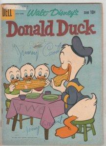 Donald Duck #72 (Jul-60) GD- Affordable-Grade Donald Duck