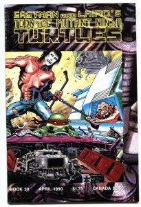 TEENAGE MUTANT NINJA TURTLES #30-1990-mid run issue NM-