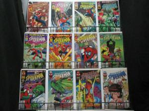 UNTOLD TALES OF SPIDERMAN (1995) -1,1-25,Ann'96-'97 B&B
