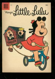 MARGE'S LITTLE LULU #94 1956-DELL COMICS-TUBBY COVER FN/VF