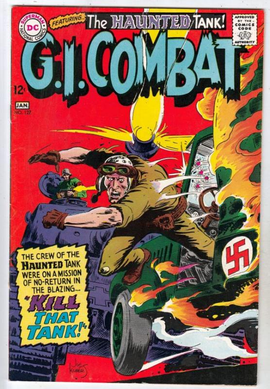 G.I. Combat #127 (Jan-68) VF/NM High-Grade The Haunted Tank