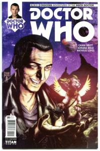 DOCTOR WHO #5 A, NM, 9th, Tardis, 2016, Titan, 1st, more DW in store, Sci-fi