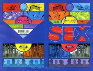 Sex #11 VF/NM; Image | save on shipping - details inside