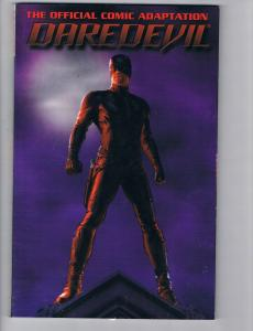 Daredevil The Official Comic Adaptation TPB VF/NM Marvel Comics Hi-Res Scan!!!!
