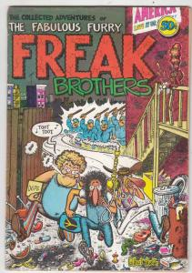 Fabulous Furry Freak Brothers #1 (Jan-71) FN+ Mid-High-Grade The Freak Brothe...