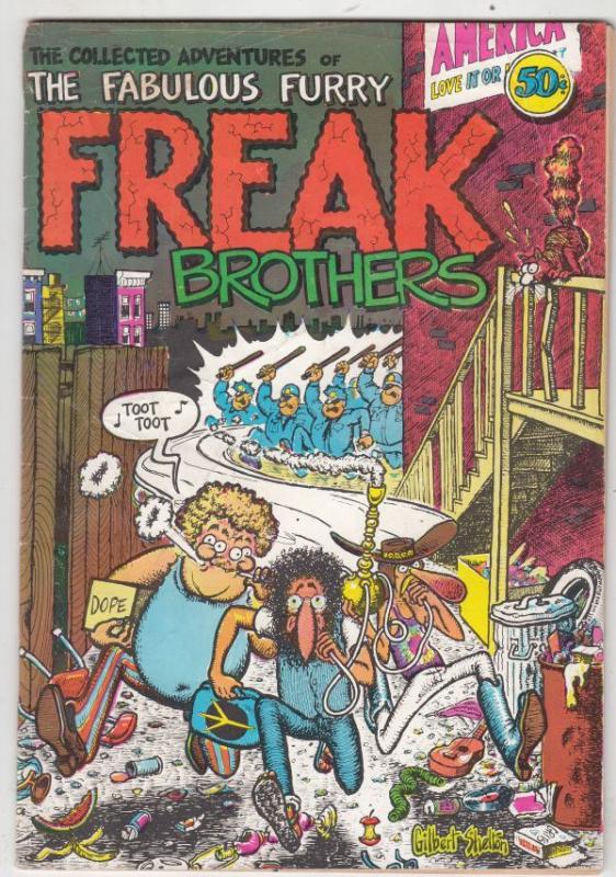 Fabulous Furry Freak Brothers #1 (Jan-71) FN+ Mid-High-Grade The Freak Brothe...