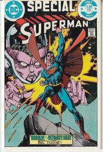 Superman Special # 1  Superman vs Human Evolution !