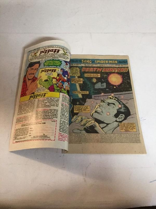 Marvel Two-In-One Annual 2 Vf Very Fine 8.0