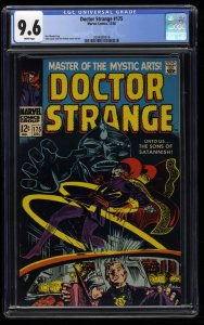 Doctor Strange #175 CGC NM+ 9.6 White Pages