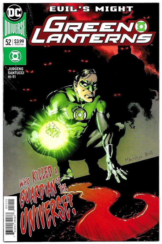 Green Lanterns #52 Rebirth Main Cvr (DC, 2018) NM