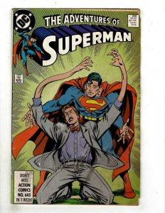 Adventures of Superman #458 (1989) YY7
