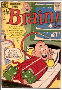 Brain #7 1958-ME-final issue-bizarre series-G