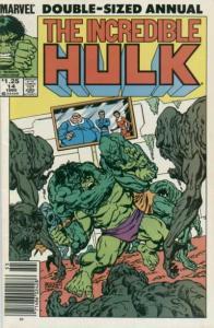 Incredible Hulk (1968 series) Annual #14, VF+ (Stock photo)