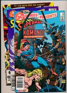 LOT OF 3 DC Presents SUPERMAN& KAMANDI#64, XANADU#65, THE DEMON#66 F/VF(PF127)