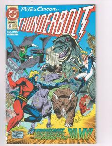 Peter Cannon Thunderbolt (1992) #10DC Comic Book Justice League Europe HH2