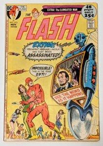 The Flash #210 (Nov 1971, DC) FN- 5.5 Robot cover Elongated Man backup story