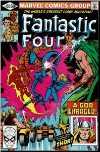 Fantastic Four #225, 8.0 or Better - Thor and Odin Appearance