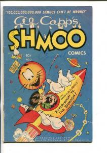AL CAPP'S SHMOO #3-1949-TOBY-MOON ROCKET-vg