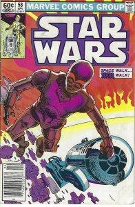 comics comic book star wars #58