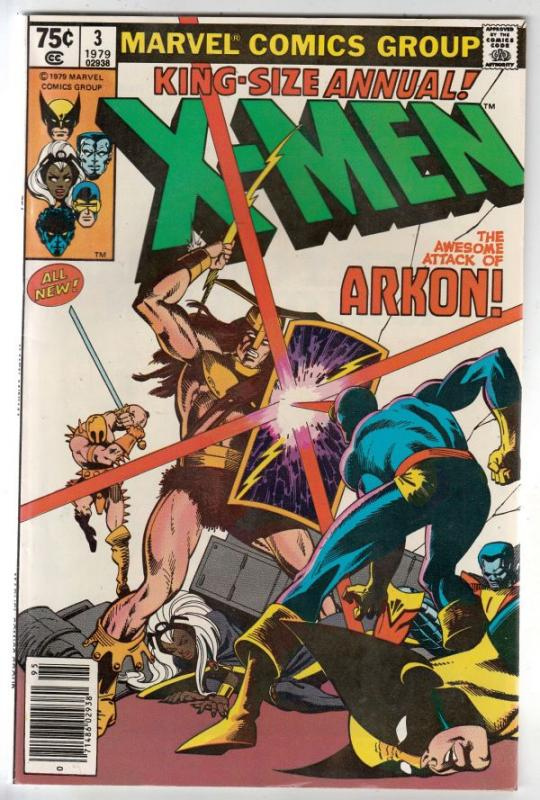 X-Men King-Size #3 (Jan-79) NM/NM- High-Grade X-Men (Colussus, Storm, Wolveri...
