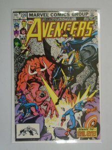 Avengers #226 Direct edition 8.5 VF+ (1982 1st Series)