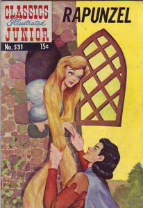 Classics Illustrated Junior #531 (Feb-56) VG+ Affordable-Grade Repunzel