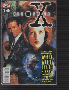 X-Files #16 (Topps, 1996) NM