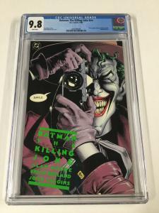 Batman The Killing Joke 1 NN Cgc 9.8 1st First Print Dc Comics 2030396006