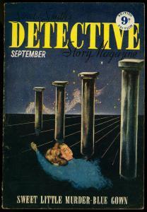 Detective Story Pulp September 1950- British Variant VG