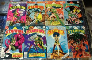 STARFIRE (1976) 1-8  F/+ 1970S DC SCI FI BAD GIRL