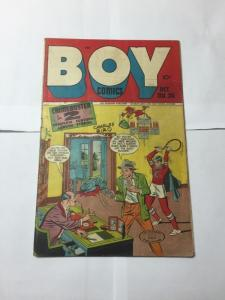 Boy Comics 36 Very Good Vg 4.0 See Pictures