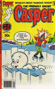 Friendly Ghost, Casper, The #215 VG; Harvey | low grade comic - save on shipping