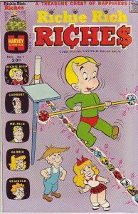 Richie Rich Riches #9 (Nov-73) NM/NM- High-Grade Richie Rich