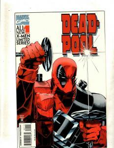 DEADPOOL Complete Marvel Comics LTD Series # 1 2 3 4 Cable X-Force X-Men J361