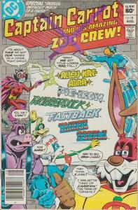 CAPTAIN CARROT AND HIS AMAZING ZOO CREW  -#18 & 19 & 20 - LOT OF 3 COMICS