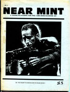 Near Mint #3 1980-Al Dellinges-Humphrey Bogart-Al Capp-Sheena-VG