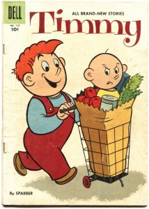 TIMMY-DELL FOUR COLOR #715-NEWS PAPER COMIC STRIP BY SPARBER-1956